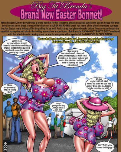 Smudge Big Tit Brenda - Brand New Easter Bonnet!