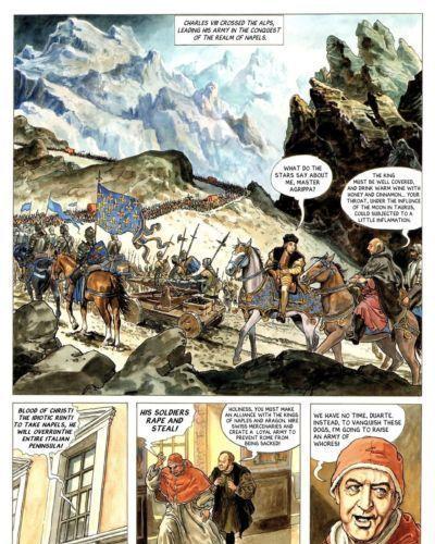 Alejandro Jodorowsky & Milo Manara Borgia #3 - The Flames of the Pyre - part 3