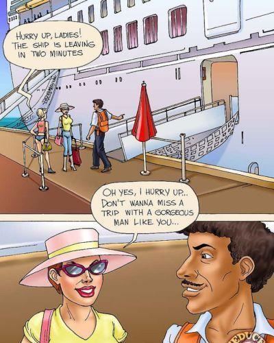 Amanda - đi điên rồi trên một Cruise