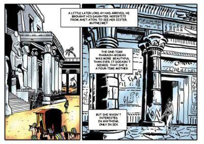 Tejlor Harem Of Pharaoh - part 4