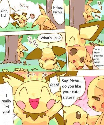 Dayan Pikachu Kiss Pichu ()