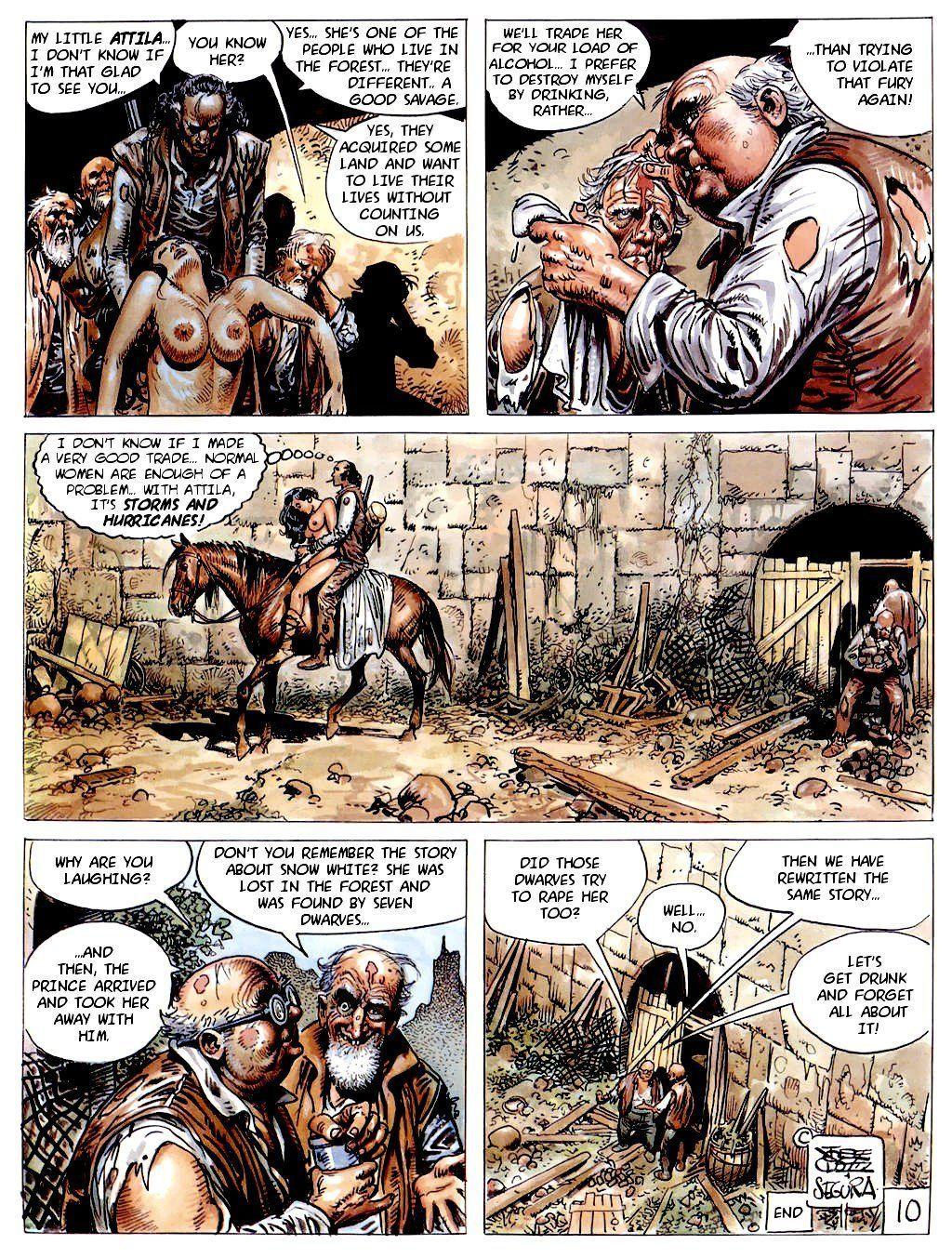 Attila comics segura hentai