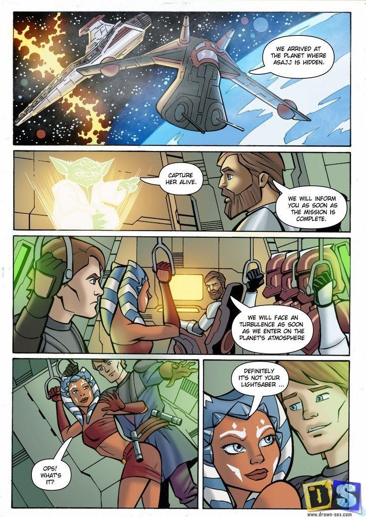 Drawn-Sex Star Wars: The Clone Wars
