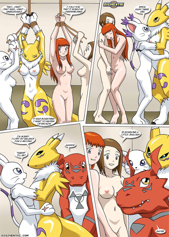 Palcomix New Playmates (Digimon) - part 4