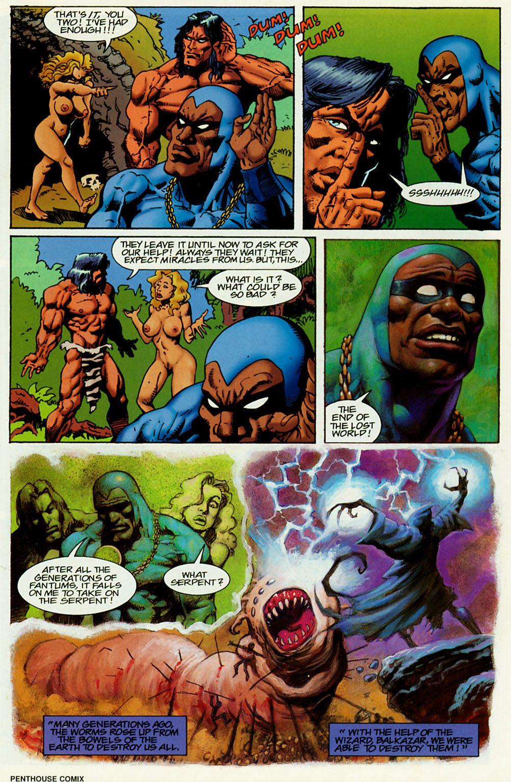 пентхаус комикс 23 - хентай манга