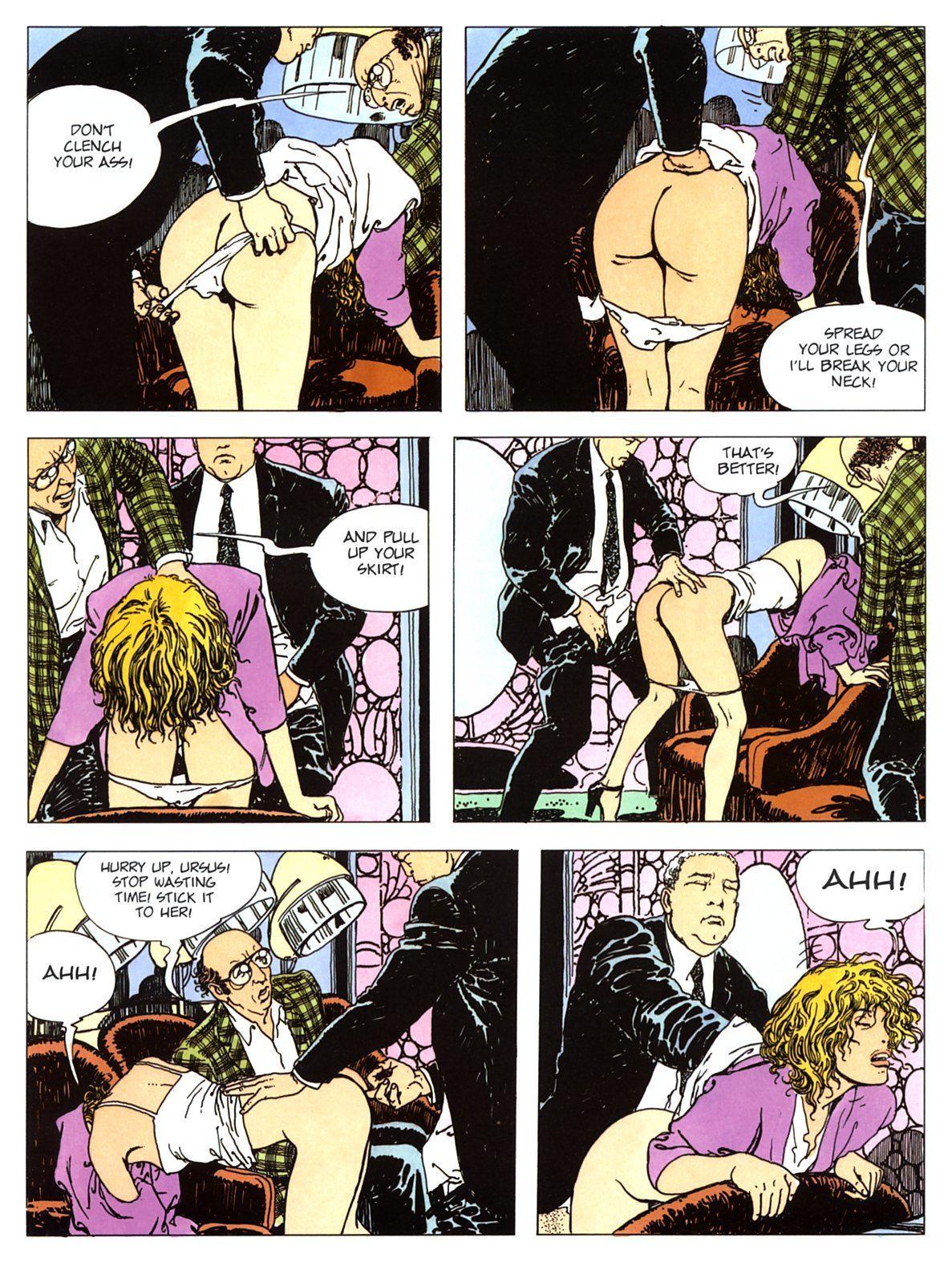 Manara hentai manga