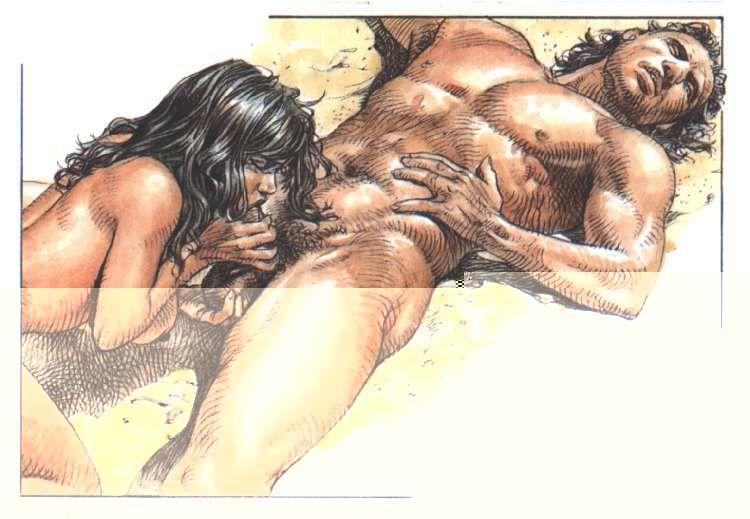 Порно крупные иллюстрации