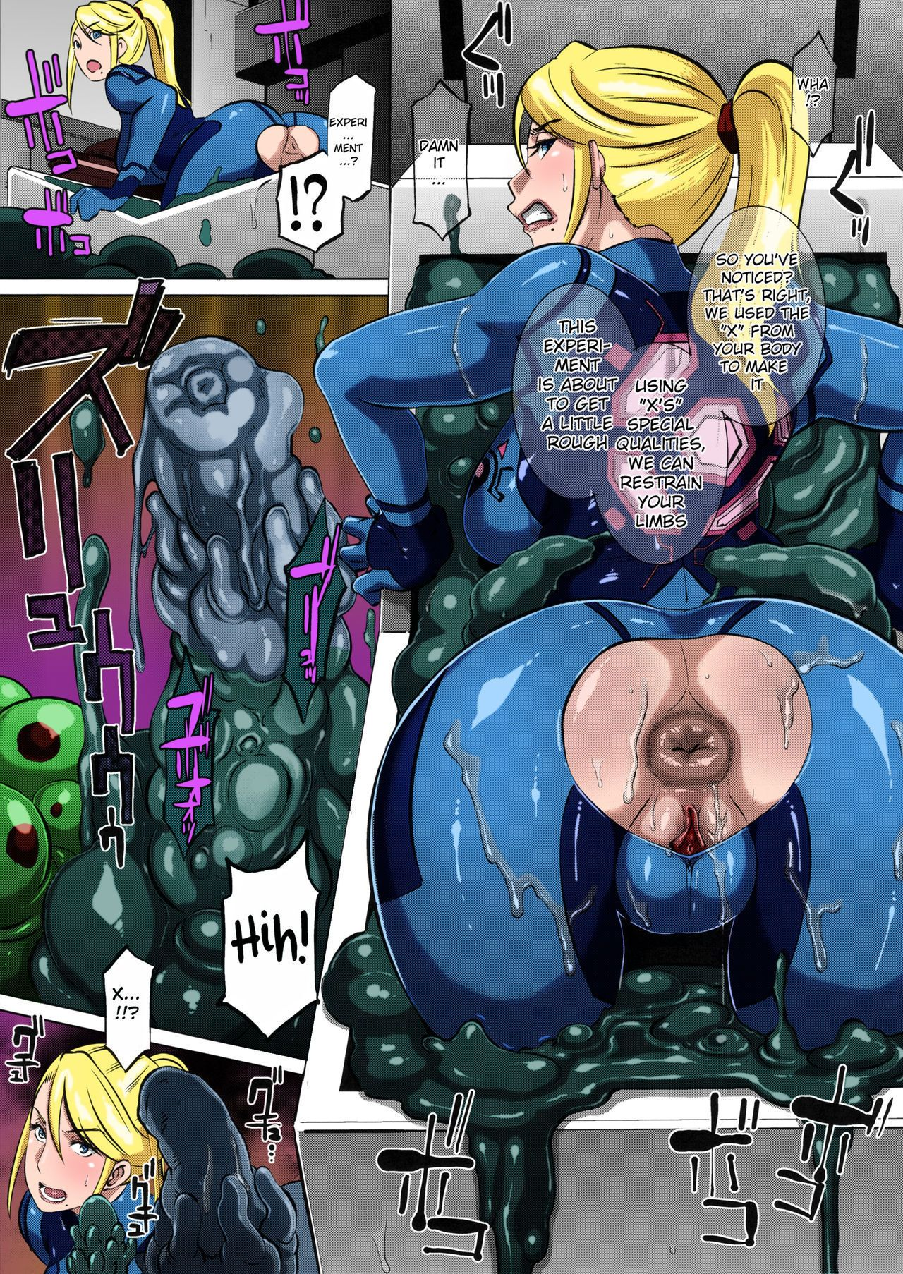 (C86) EROQUIS! (Butcha-U) Metroid XXX (Metroid)Colorized Decensored