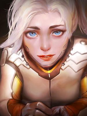Reward 04 - Mercy- Katarina- Dark Elementalist Lux - part 4