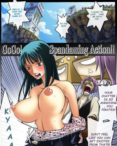 Konsoul One Piece GO GO SPANDAMING ACTION Full color eng High-res