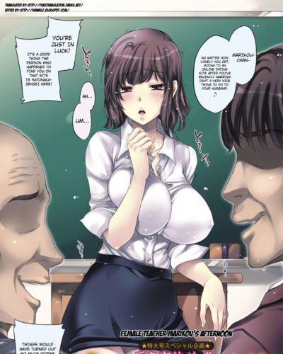 Kobayashi Youkoh OnnaKyoushi Marikou no Gogo - Female Teacher Marikou\