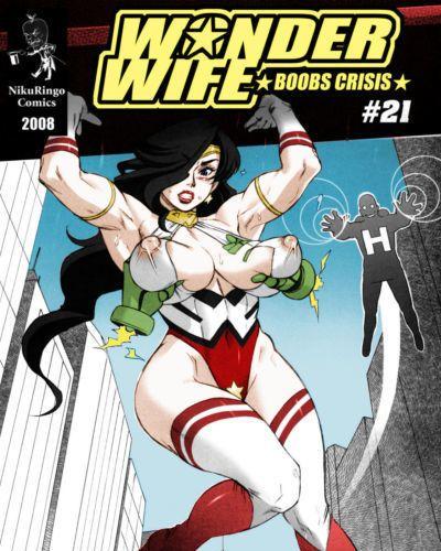 Niku Ringo (Kakugari Kyoudai) Wonder Wife: Boobs Crisis #21 desudesu Colorized