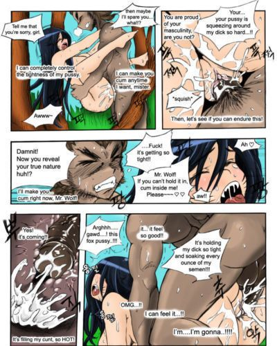 KimMundo The Wolf and the Fox (League of Legends) {halftooth} - part 4