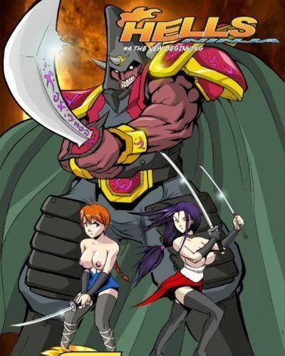 Hell Ninja 4 & 5- Hentai Key