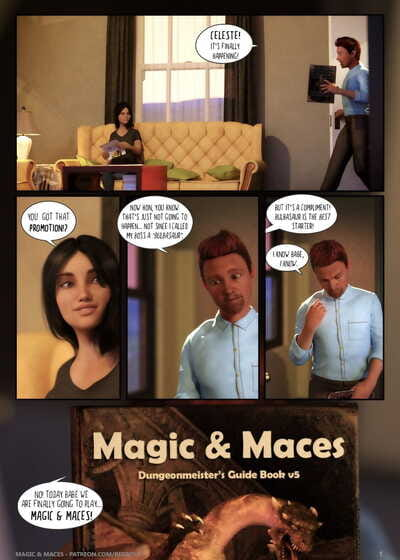 Begrove – Magic and Maces 1