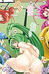 Metabocafe Offensive Smell Uproar (Itachou, Kakiko) Reika-chan Chino Jijii to Chanomi Tomodachi - Reika-chan\'s Old Man and His Buddies (Smile Precure) {} Digital