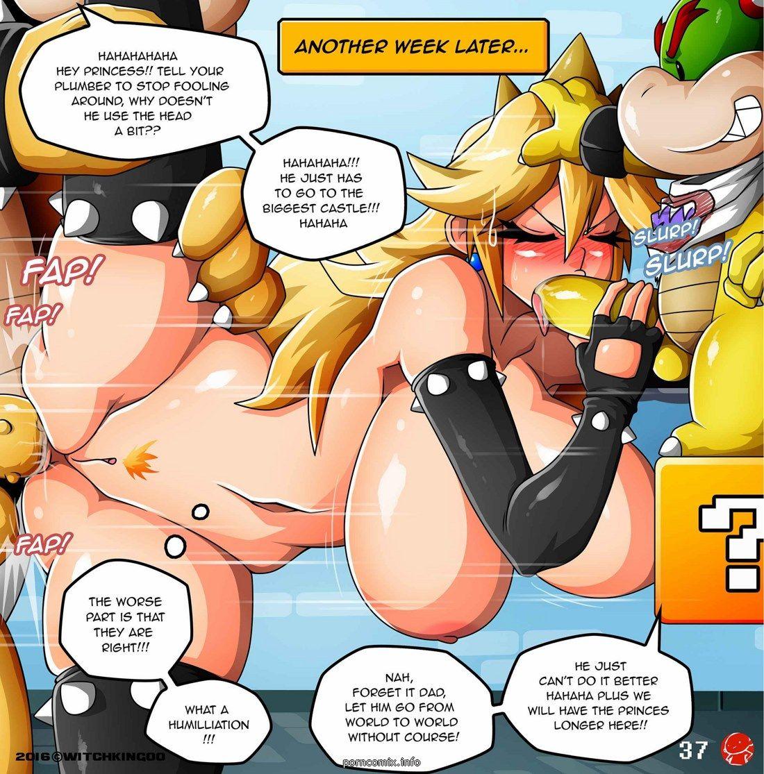 comic Mario hentai
