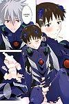 (C86) cassino (Magarikoji Lily) Plug Suit ga Sonna ni Biribiri de Dou suru no Shinji-kun! - With a plugsuit ripped like this what is Shinji-kun to do! (Neon Genesis Evangelion) {spluuuuurt}