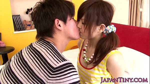 Asian pornstar Miku Airi gets tits jizzed on