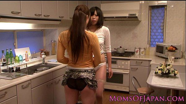 Japanese lesbian housewives licking pussy HD