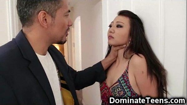 Asian Teen Gets Rough Punishment!