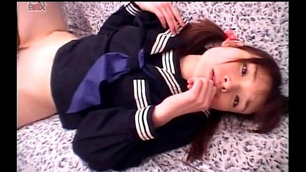 Little jap sweetheart taking hard pounding in school uniform