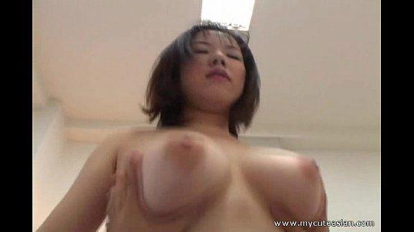 Big tit amateur riding cock