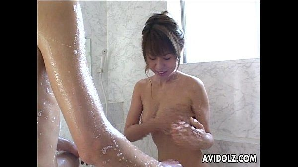 Enchanting Asian babe rides her lover\