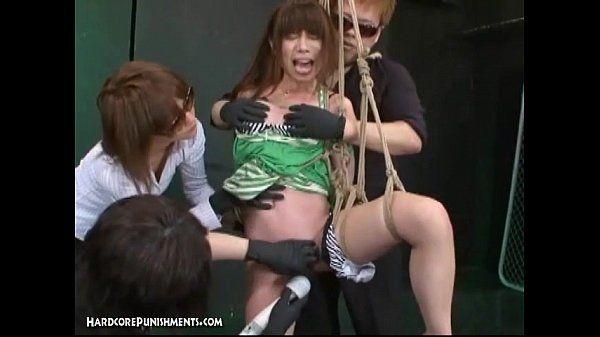 Japanese Bondage Sex Extreme BDSM Punishment of Asari (Pt. 4)