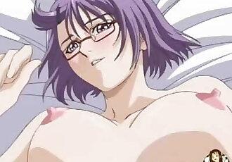 hentai anime madchen mit nerdy brille