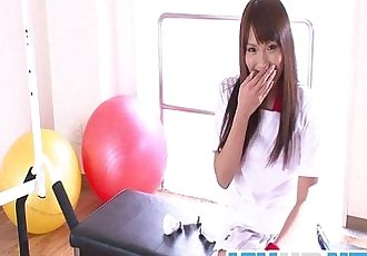 Workout Girl Suzu Minamoto Works Her Pussy With Toys - 8 min