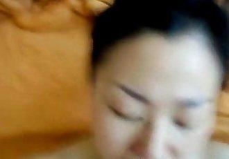 Asian wife fucked - 18 min