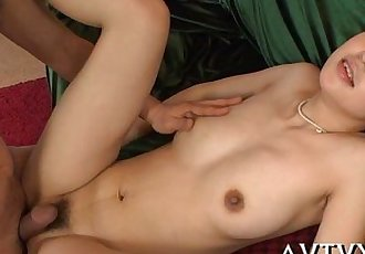 Toying japanese babes sexy cum-hole - 5 min