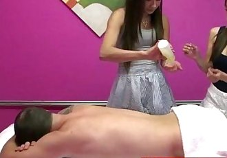 Real nuru masseuses sharing customers dick - 8 min HD