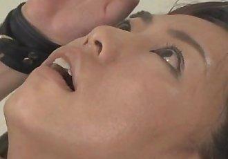 Asian babe bond and fuckd by a fucking machine - 7 min