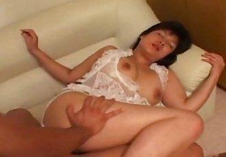 Asian Yuko Hasegawa nailed from behind - 5 min