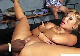 Ava Devine interracial threeway fun - 10 min HD