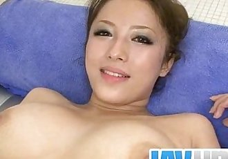 Curvy beauty amazes with her tit job and strong blowjob - 12 min