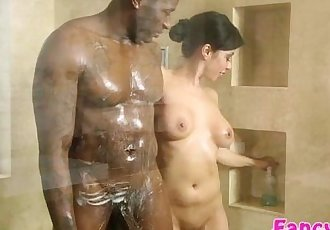 Asian and sexy Kimmy Lee gets her tight pussy fucked by Rob Piper - 5 min