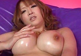 Busty Yuki Touma plays with cock in nasty ways - 12 min