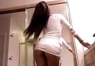 Sexy Asian Girl hot strip on Webcam - for more visit pornvideocorner.com - 24 min