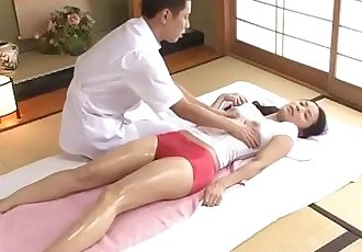 Getting her massage licence means getting fucked by the instructor - 1 min 3 sec