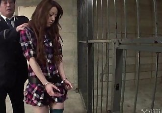 41Ticket - Miu Aizakis Jail Cell Gangbang - 5 min HD