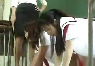 100 Cleaning Detail Spanked - 6 min
