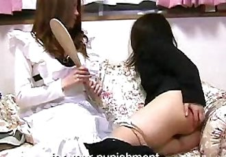 022 Career Girl Spanked - 5 min