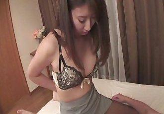 Mai Asahina Pounded Through A Hole In Her Pantyhose - 8 min