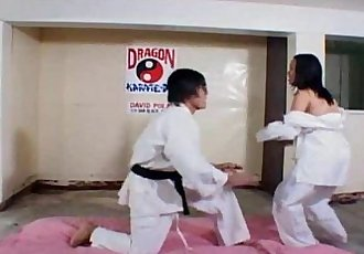 Filipina slut fucked hard after karate - 6 min
