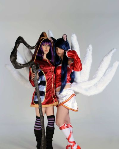 [Cosplay-Mate] Ahri and Lulu (League of Legends)
