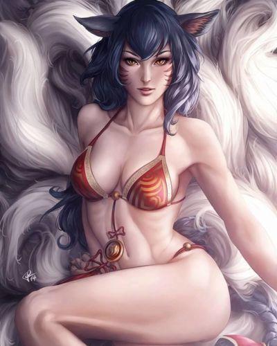 League of Legends - Ahri - part 2