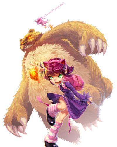 Annie. League Of Legends. [SFW] - part 3